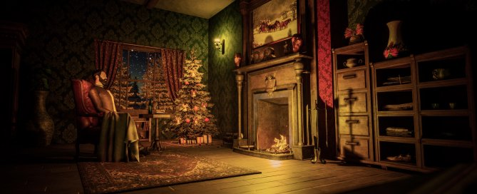 Victorian Christmas Ambiance