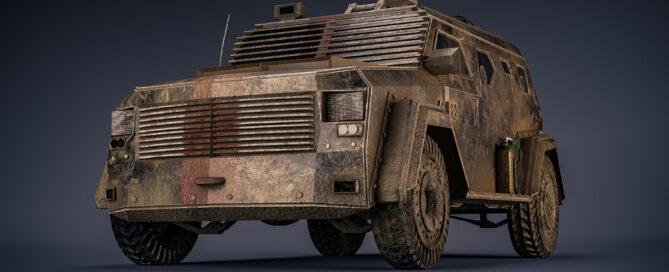 Post Apocalypse Truck